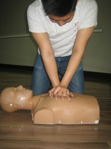 All of our workplace approved first aid programs include training in cardiopulmonary resuscitation and in the use of automated external defibrillators.