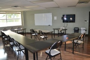 First Aid Training Room for candidates